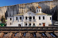 Inkerman is the extreme south-west of the Crimean peninsula, territory of city of Sevastopol  Inkerman is a ´spelaean city´ on the Monasterial rock, a...