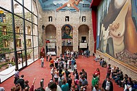 Theatre-Museum of Salvador Dali  Figueres, Catalonia, Spain
