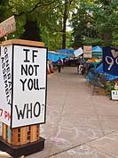 Occupy Portland, Oregon Occupy Wall street