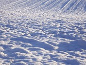 Snow furrows
