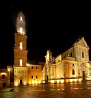 Lecce, Cathedral square: bell tower