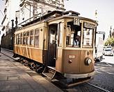 tramline, Porto, Portugal