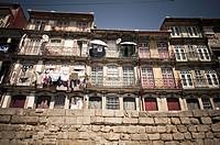 port facades, Porto, Portugal