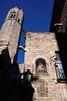 Plaça del Rei, Gothic Quarter, Barcelona, Catalonia, Spain