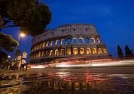 The Colosseum, Rome, Lazio, Italy, Europe.