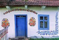 Poland, Lesser Poland, Tarnow region, Zalipie