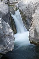 Cascade in Pou Clar, Ontinyent, Comunidad Valenciana