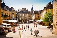 Sarlat-la-Caneda, Dordogne, Perigord Noir, Southwestern France