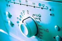 Control panel of washing machine