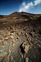 Volcano Mount Etna on Sicily, Italy