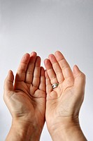praying hands- muslim