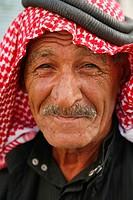 Portrait of a Jordanian man, Jordan