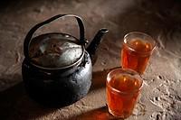 Beduin tea, Petra, Jordan