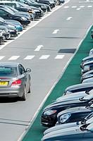 Terminal 5 Car parking at Heathrow airport  London  England