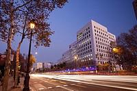 L´Illa Diagonal shopping center in Diagonal Avenue, Barcelona, Spain