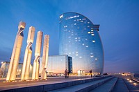 Hotel W also known as Hotel Vela, Barcelona, Spain