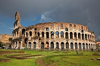 The Colosseum, Rome, Lazio, Italy, Europe