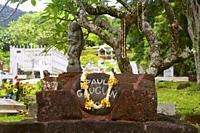 Paul Gauguin gravesite, Atuona, Marquesas Islands, French Polynesia