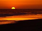Sunset in Huelva  Matalascanas 1