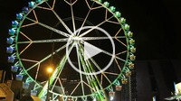 Ferris wheel, Forum, Barcelona, Catalonia, Spain