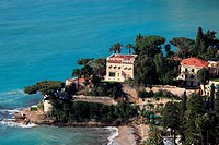 A luxury villa in the coast of Roquebrune, Alpes-Maritimes, French Riviera, Provence-Alpes-Côte d´Azur, France