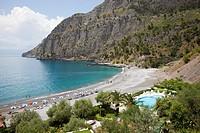 beach, aquafredda di maratea, maratea, basilicata, italy, europe