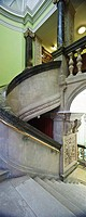 Ireland, Dublin, Kildare Street, The National Library of Ireland  The Grand Staircase