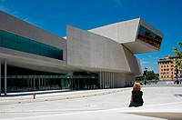 MAXXI National Museum of 21st Century Arts, Rome, Italy