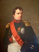 Napoleón Bonaparte portrait. Museo Napoleónico. Havana. Cuba.