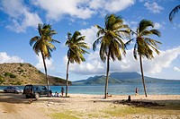 Cockleshell Bay at St Kitts in the Caribbean