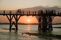 Punta del Caiman beach, Isla Cristina, Huelva-province, Region of Andalusia, Spain, Europe
