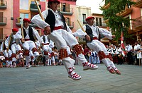 "-Traditional ""Vascos"" Dancers- Spain."