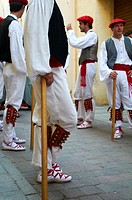 -Traditional Vascos Dancers- Spain.