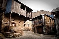 """Houses in Peñalba de Santiago,""""Valle del Silencio"""", El Bierzo, Castilla and León, Spain"""