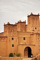 Moroccan kasbah outside Ouarzazate