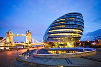 City Hall London & Tower Bridge