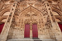 Doors of the Cathedral of Salamanca, Spain