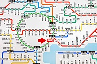 Asia, Japan, Tokyo, Train Map, Tokyo Railway Map, JR, Japan Railways, Map, Maps, Tokyo Map