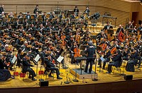 Paris, France, North Korean Symphony Orchestra ´the Unhasu Orchestra´ together with ´Radio France Philharmonic Orchestra´ Perform First Concert in Eur...