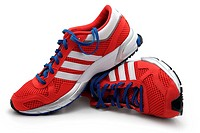 Red Trainers, Running Shoes, Sneakers
