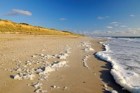 Beach, Germany, Schleswig Holstein, Sylt, Red Cliff, North Frisian Islands, North Sea,