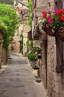 Saint Cirq Lapopie, Lot River, Lot Valley, Way of St James, Midi Pyrénées, France, Europe