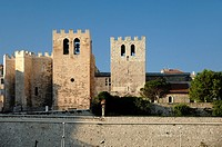 Fortified Medieval Church of Saint Victor Marseille or Marseilles Bouches-du-Rhône Provence France
