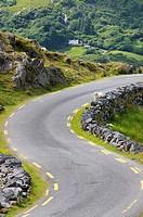 Ireland, County Kerry, Beara peninsula, Healy pass 334 m