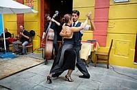 Tango, La Boca, Buenos Aires, Argentina, South America.