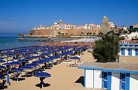 beach, termoli, puglia, italy, europe