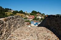 Roman bridge, Llanes. Asturias, Spain