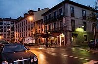 Coffee shop Peñalver, Peñalver street. Oviedo, Asturias, Spain.
