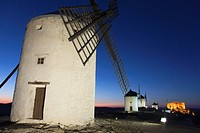 Windmills, Consuegra, Toledo, Castilla la Mancha, Spain