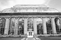Botanic garden green house.